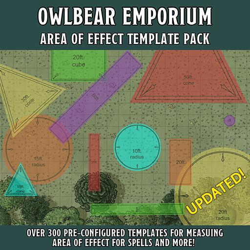Area of Effect Template Pack