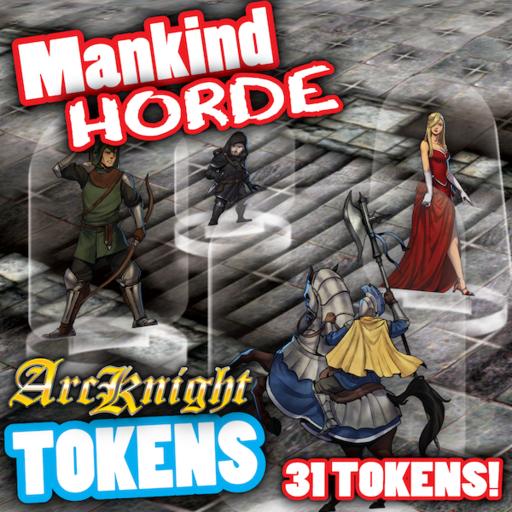 Arcknight Tokens - Mankind Horde