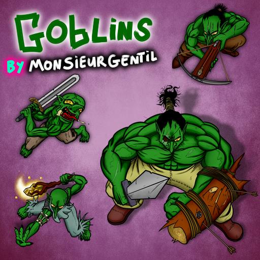 Goblins by Monsieur Gentil