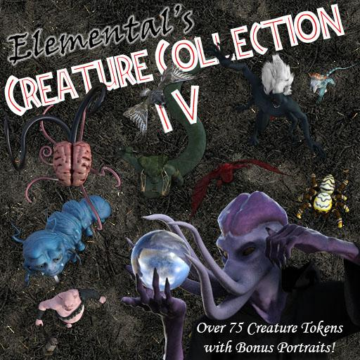 Elemental's Creature Collection 4