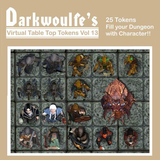 Darkwoulfe's Token Pack Vol13 - Tales from the Lucky Lass 3