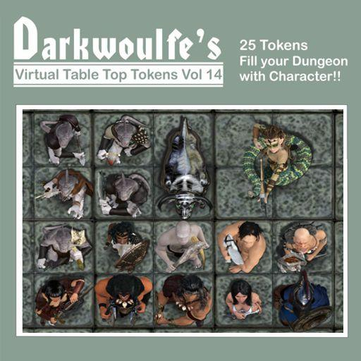 Darkwoulfe's Token Pack Vol14