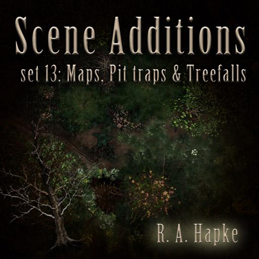 Scene Additions Set 13: Maps, Pit Traps and Treefalls