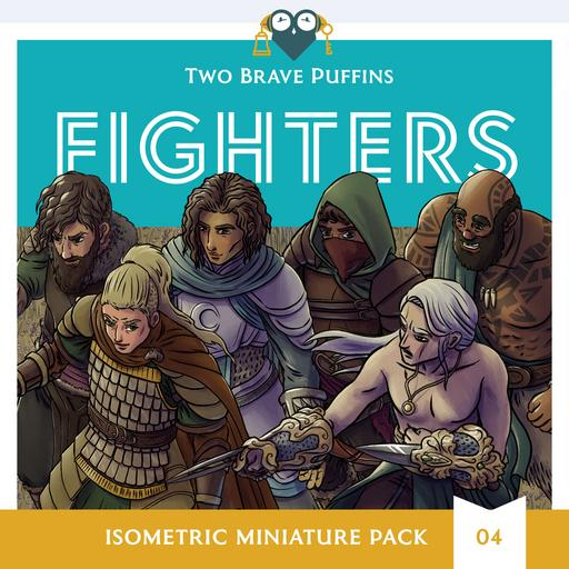 Fighters - Isometric Heroes Pack 04