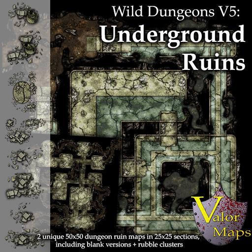 Wild Dungeons V5: Underground Ruins