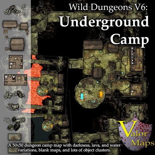 Wild Dungeons V6: Underground Camp