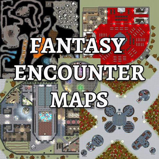 32 Fantasy Encounter Maps