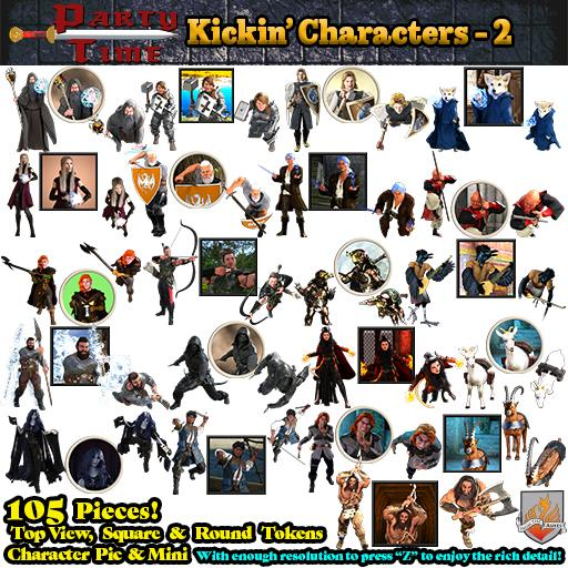 Party Time - Kickin' Characters Pack 2
