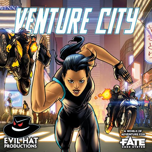 Venture City: A Fate World of Adventure