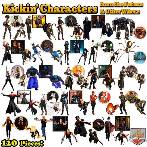 Kickin' Characters from Future & OtherWhere