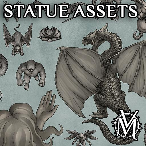 Statue Assets Pack