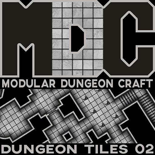 Modular Dungeon Craft, Dungeon Tiles 02