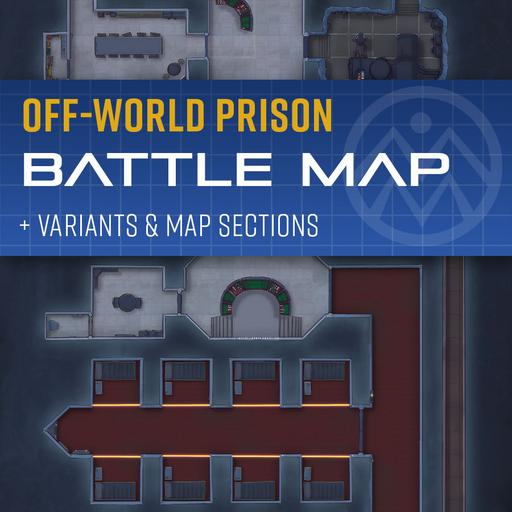 Off-World Prison Encounter Map
