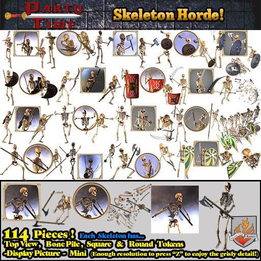 Skeleton Horde!