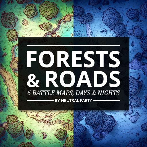 Forests & Roads Map Pack 5