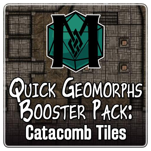 Quick Geomorphs: Catacomb Booster Pack