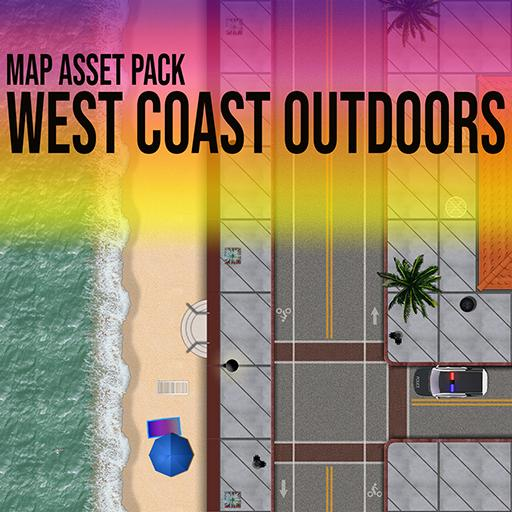 West Coast Outdoors - Map Asset Pack