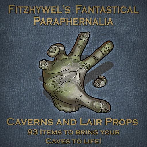 Fitzhywel's Fantastical Paraphernalia Caverns and Lair Props