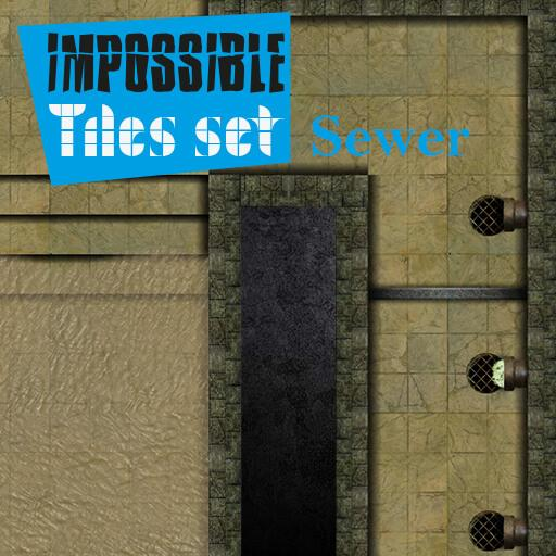 Impossible Tiles Set: Sewer