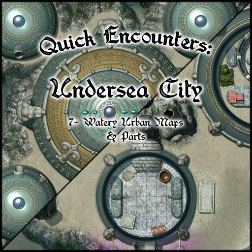 Quick Encounters: Undersea City