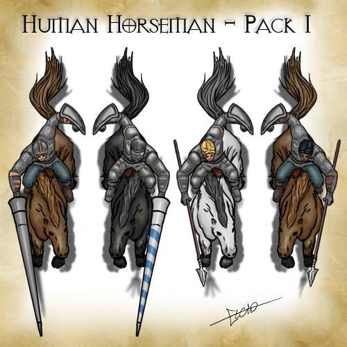 Human Horseman - Pack 1