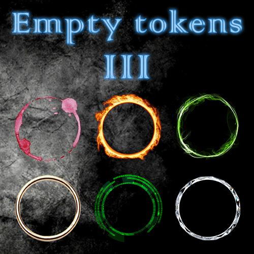 Empty Tokens Pack 3