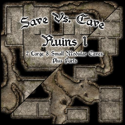 Save Vs. Cave Ruins 1
