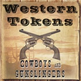 Western Tokens Cowboys and Gunslingers