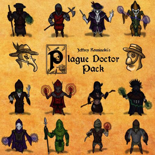 Jeffrey Kaminski's Plague Doctor Pack