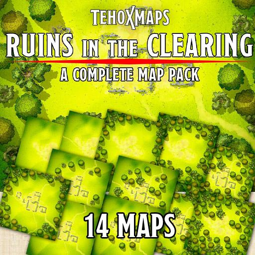 Ruins in the Clearing map pack
