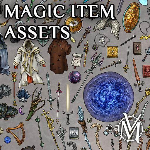 Magic Item Assets