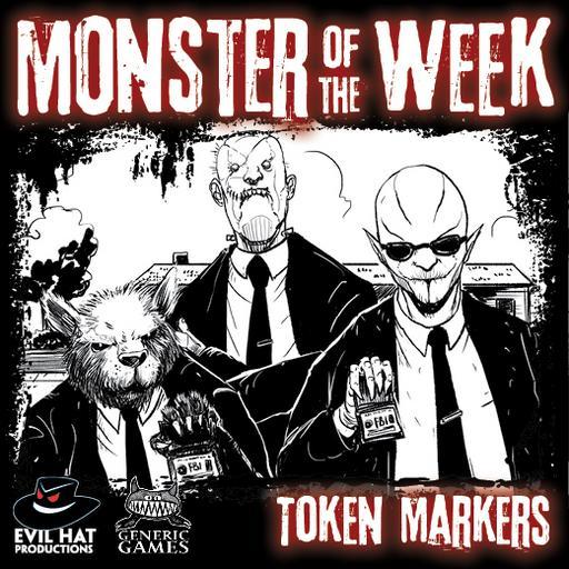 Monster of the Week Token Markers