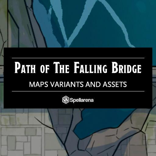 Path of the Falling Bridges Map and Assets Pack