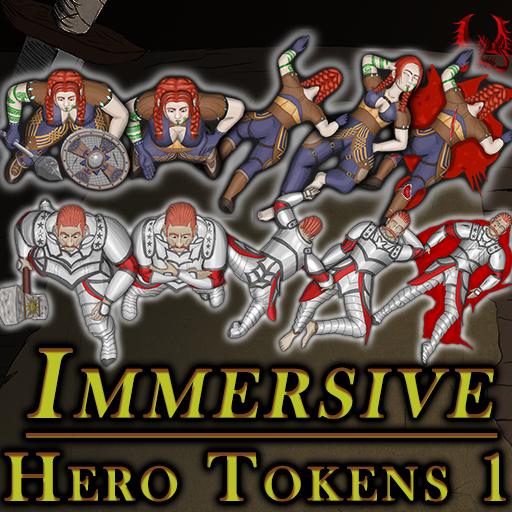 Immersive Hero Tokens 1