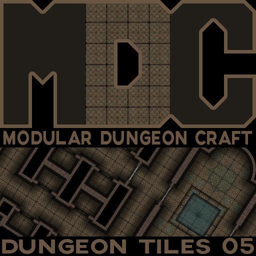 Modular Dungeon Craft, Dungeon Tiles 05