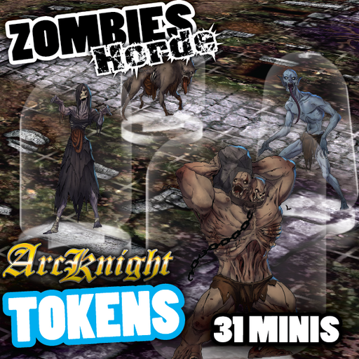 Arcknight Tokens - Zombie Horde