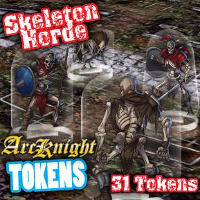 Arcknight Tokens - Skeletons Horde