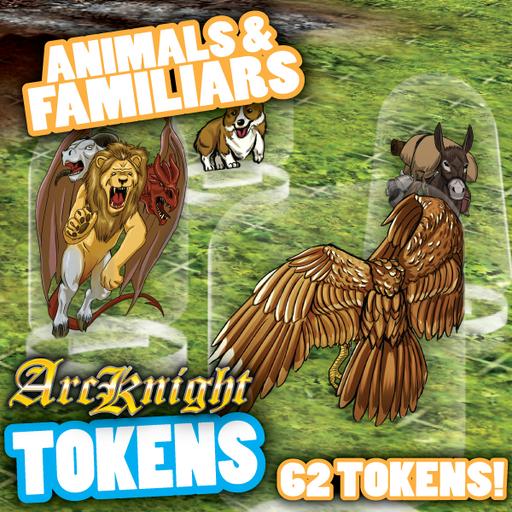 Arcknight Tokens - Animals & Familiars