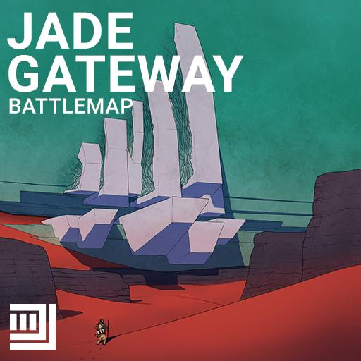 Jade Gateway Battlemap