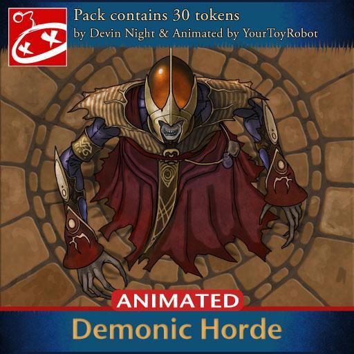 Demonic Horde Animated