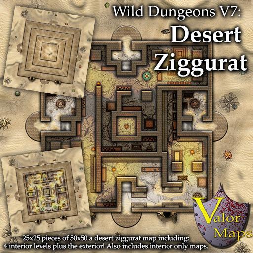 Wild Dungeons V7: Desert Ziggurat