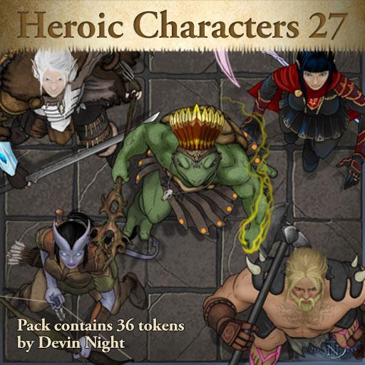 Heroic Characters 27
