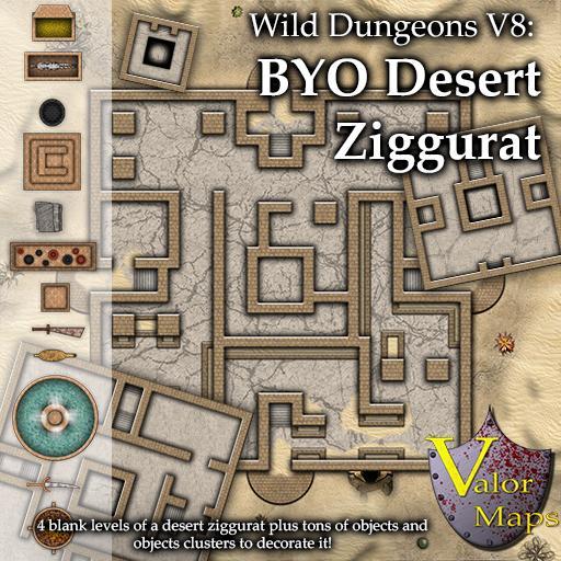 Wild Dungeons V8: BYO Ziggurat