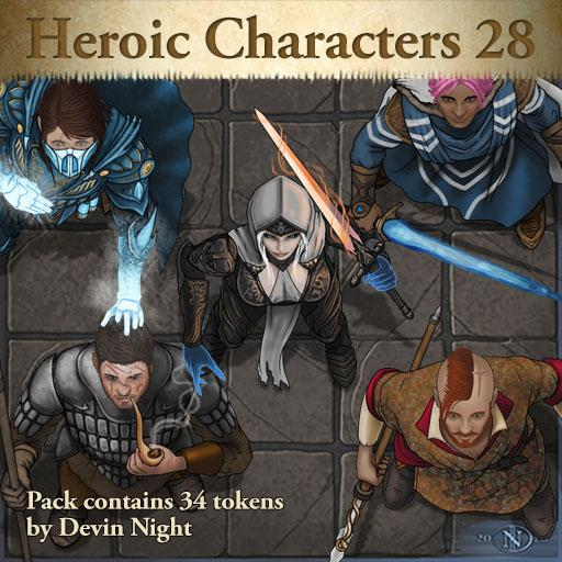 Heroic Characters 28