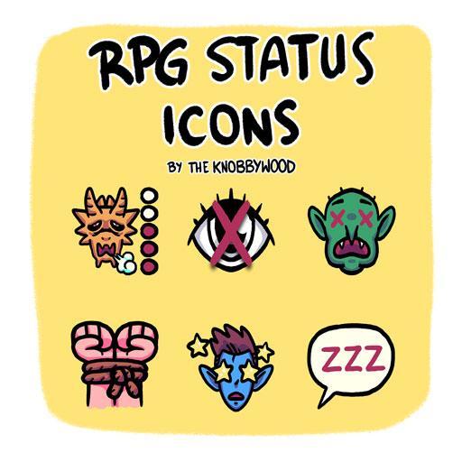 RPG Status Icons