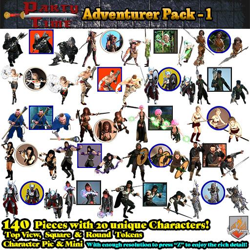 Party Time Adventure Pack 01