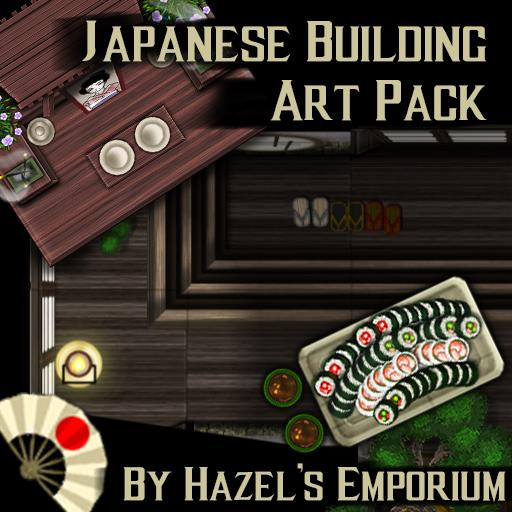 Japanese Building Art Pack
