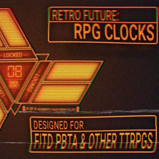 Retro Future Tracking Clocks - Rollable Tables Addon