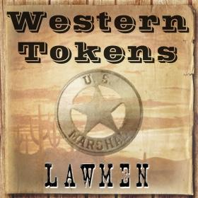 Western Tokens Lawmen