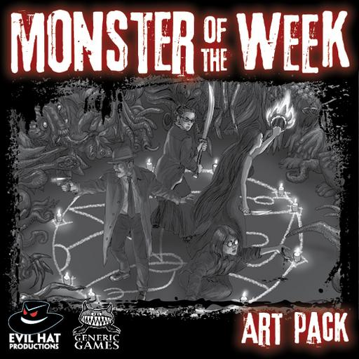 Monster of the Week Art Pack